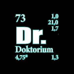 Doktorium Element Doktor Doktorand Geschenk
