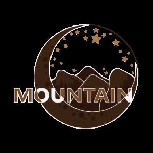 Berge, Sterne und der Halbmond