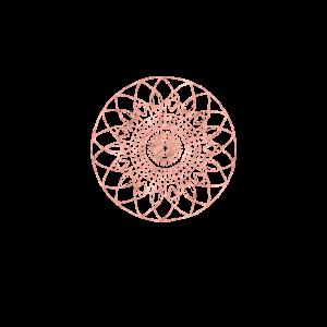 Mandala roots rosegold