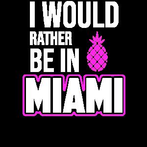 Miami Beach Miami Party Shirt