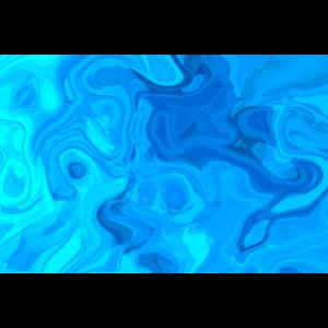 blaues abstraktes dynamisches flüssiges kunstwerk