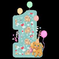 1. Geburtstag Hunde Feiern