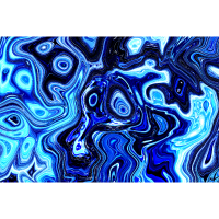Blaue Abstrakte Kunst Modern