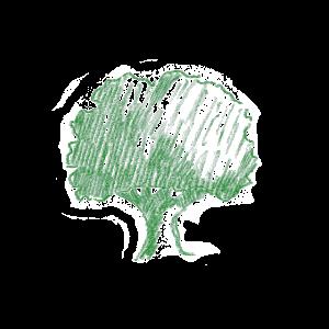 BAUM in grün