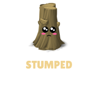 I m Stumped Funny Tree Pun