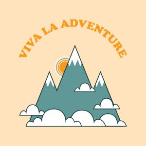 Viva La Adventure, 70s Retro Vintage Mountains