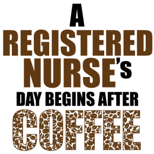 Nurse's day begins after a coffee
