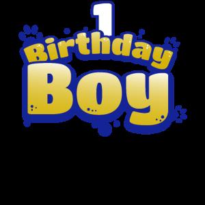 Geburtstagskind Junge 1 Jahr alt Geburtstags Shirt