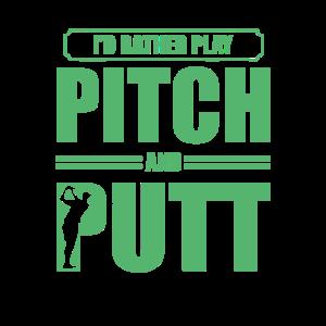 Putter Pitch und Putt Golf Pitch & Putt Pitching