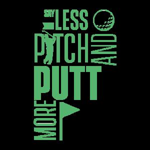 Pitching Pitch und Putt Pitch & Putt Putter Golf