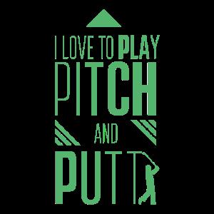 Pitching Pitch und Putt Pitch & Putt Golf Putter