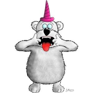 Außergewöhnlich frecher Bär