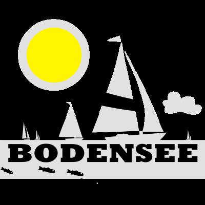 Bodensee T-Shirt - Bodensee, Meersburg, Segeln Urlaub, Ferien Lindau, Bregenz, Meersburg, Friedrichshafen, Meinau, segeln. Bodensee T-Shirt - Segeln Urlaub,Radtour,Meinau,Meersburg,Friedrichshafen,Ferien Lindau,Bregenz,Bodensee Meersburg