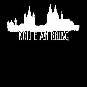 Köln Skyline Kölle am Rhing Kölner Dom am Rhein