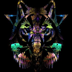 Fantasy Wolf Gesicht Schnauze Jäger