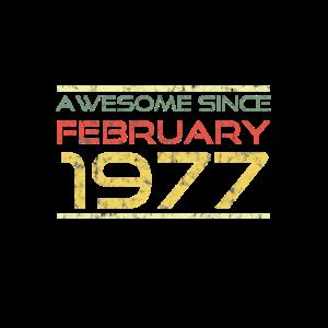 Lustiger und origineller Spruch Geburtsjahr 1977