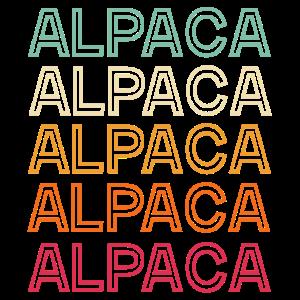 Alpaka Alpaka Alpaka Retro