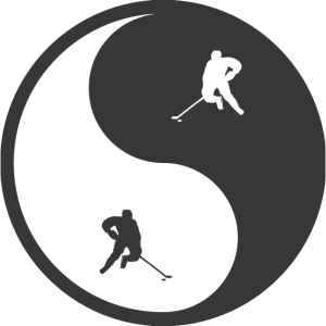Jin Jang Hockey Geschenk
