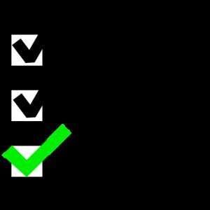 Checkliste Abitur! - Erledigt