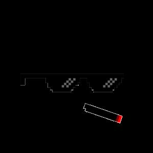 Drug Life Pixelbrille Joint Rauchen Geschenk