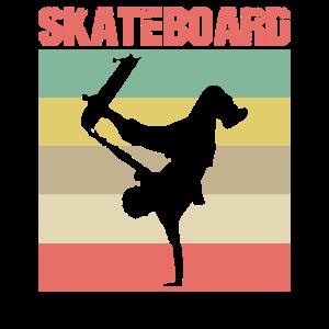 Skateboard Skateboarder Handstand