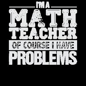 Mathelehrer haben Probleme