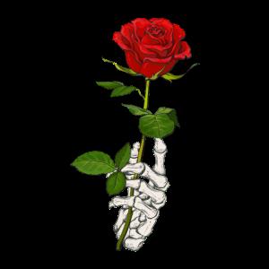 Skelett Rose