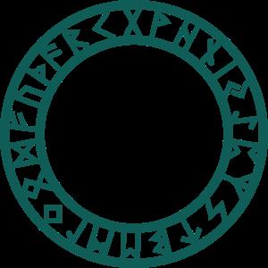 Keltisches Symbol, Aegishjalmur, Runen, Schutz