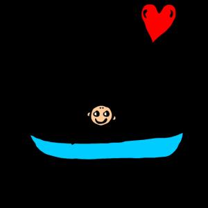 Mann Boot - Für Dich den Ozean Überqueren - Liebe