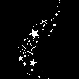 Sterne Sternchen Glitzer Dekoration