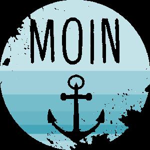 Moin Anker Norden Norddeutschland Hamburg Geschenk