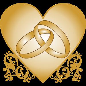 Just married - Hochzeit - Liebe - Ring - Geschenk