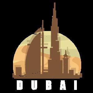 Dubai Tourismus Tower Stadt Zentrum Sonne Geschenk