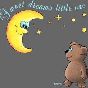 Gute Nacht kleiner Bär