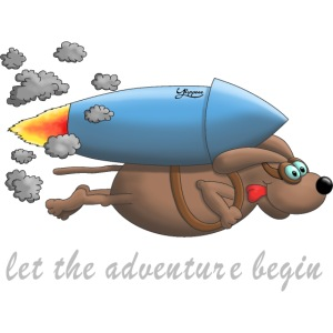 Let the adventure begin - hot dog