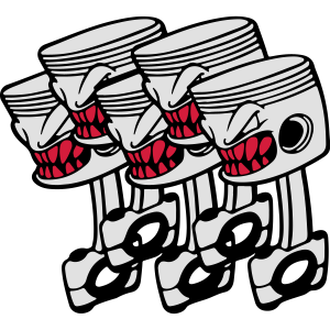 Five Pistons