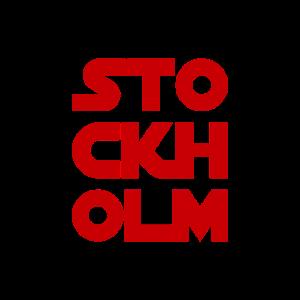 Stockholm Design Print Logo Quote Geschenk