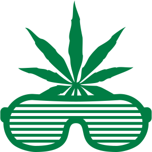 Weed Party Glasses