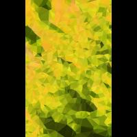Polygone Grün Gelb