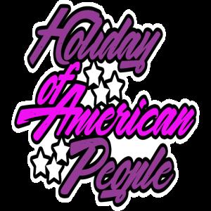 Feiertag der Amerikanischen Bevölkerung
