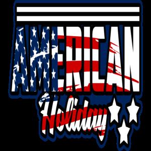 USA- America Feiertag Flagge