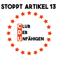 Stoppt Artikel 13 Club der Unfähigen