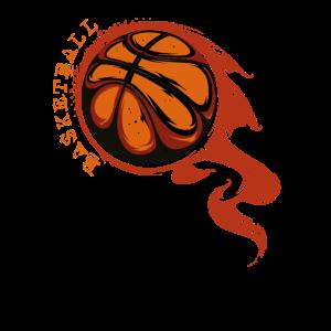 Basketball Flamme