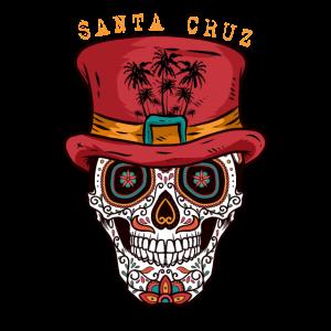 Santa Cruz Zucker Schädelhut