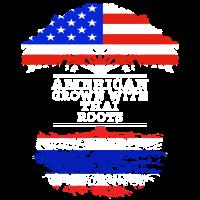 Amerikaner gewachsen mit thailändischen Wurzeln