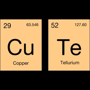 Cute Süß Chemie Periodensystem Element Geschenk