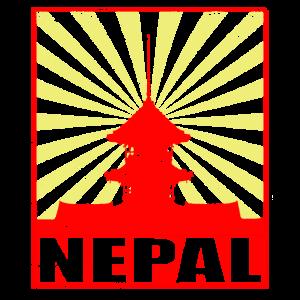 Nepal Kathmandu Himalaya Tempel Hinduismus Mantra