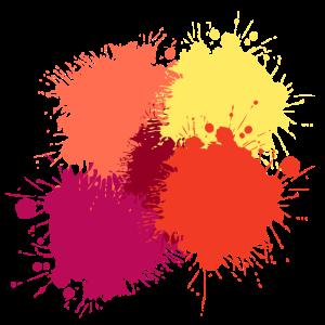 Farbflecken