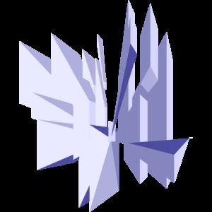 Quadrate- Kristall
