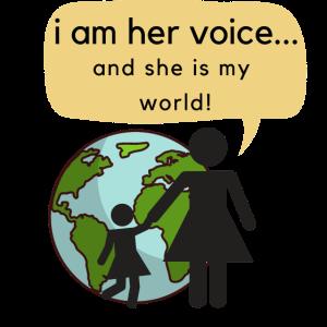 """""""Ich bin ihre Stimme und sie ist meine Welt!"""""""